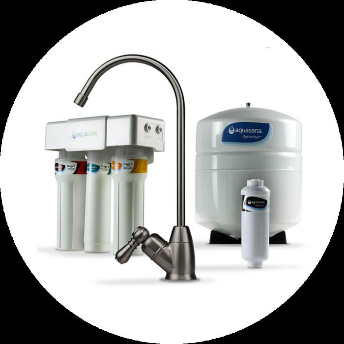 Under Sink Aquasana Water Filter